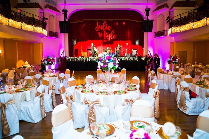 wedding reception venues