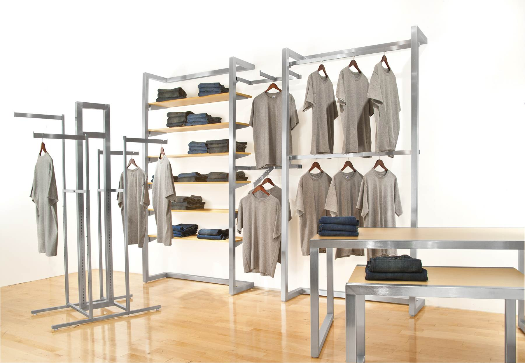 Trendy Clothing Display Racks For Sale Rippl Usa